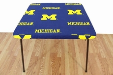 College Covers University of Michigan Card Table Cover
