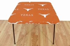 College Covers University of Texas Longhorns Card Table Cover