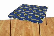 College Covers University of West Virginia Card Table Cover