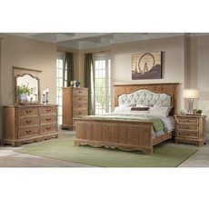 Lane Home Furnishings Cottage Charm 4 Piece Queen Bedroom Set