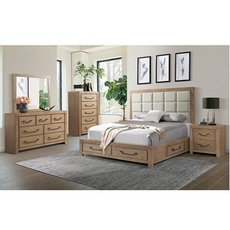 Lane Home Furnishings Urban Swag 5 Piece Queen Bedroom Set