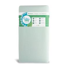 Lullaby Earth Breeze Crib Mattress 2-Stage in Green