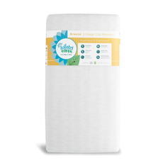 Lullaby Earth Breeze Crib Mattress 2-Stage in White
