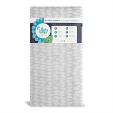 Lullaby Earth Lightweight Healthy Support Crib Mattress 2-Stage in Leaf