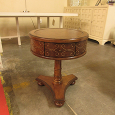 Clearance Lexington Coventry Hills Shelton Round End Table
