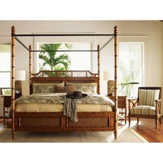 Tommy Bahama Island Estate West Indies Cal King Bedroom Set