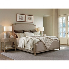 Tommy Bahama Cypress Point Stone Harbour Upholstered Queen Bedroom Set