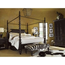 Tommy Bahama Kingstown Sovereign King Poster Bedroom Set