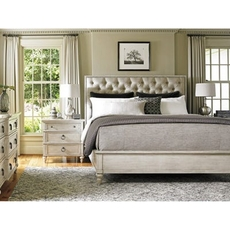 Lexington Oyster Bay Sag Harbor Tufted Upholstered King Bedroom Set