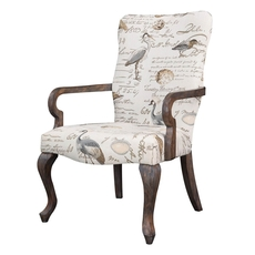 Madison Park Arnau Accent Chair in Birdsong Seamist
