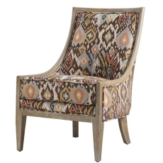 Madison Park Ellen Reclaimed Accent Chair in Polo Royal Flush