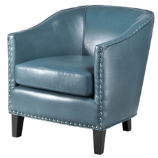 Madison Park Fremont Accent Chair in Peacock