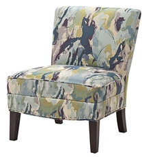Madison Park Hayden Chair in Abstraction Capri
