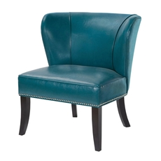Madison Park Hilton Accent Chair in Peacock