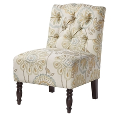 Madison Park Lola Chair in Quilted Floral