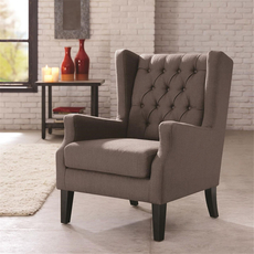 Madison Park Maxwell Chair in Lillian Shadow