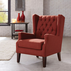 Madison Park Maxwell Chair in Lillian Russet