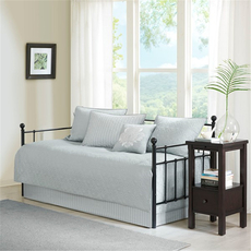 Madison Park Quebec 6 Piece Daybed Set in Grey by JLA Home