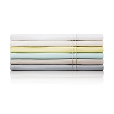 Malouf Queen Bamboo Pillowcase Pair in White