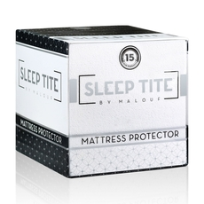 Clearance Malouf Sleep Tite Split King Mattress Protector OVLB0818016