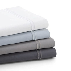 Malouf Supima Cotton Queen Pillowcase - Charcoal