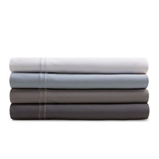 Malouf Supima Cotton Split Queen Sheet Set - White