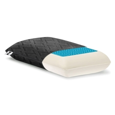 Malouf Travel Dough Memory Foam and Z Gel Pillow