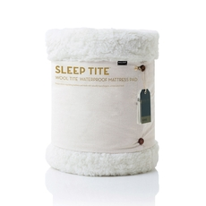 Malouf Wool Tite Mattress Pad and Protector