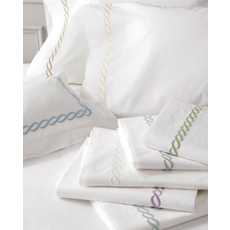 Matouk Classic Chain Pillowcase Pair