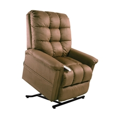 Mega Motion Windermere Birch 3 Position Power Lift Chair Chaise Lounge Recliner in Gold