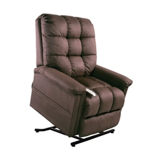 Mega Motion Windermere Birch 3 Position Power Lift Chair Chaise Lounge Recliner in Mink