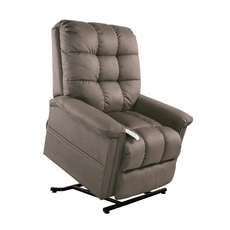 Mega Motion Windermere Birch 3 Position Power Lift Chair Chaise Lounge Recliner in Stone