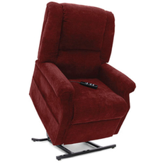 Mega Motion Windermere FC-101 Infinite Position Power Lift Chair Recliner in Burgundy