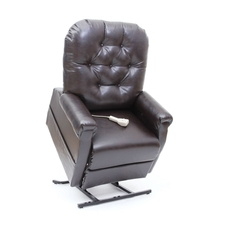 Mega Motion Windermere LC-200 Position Power Lift Chair Recliner in Burgundy Vinyl