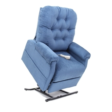 Mega Motion Windermere LC-200 Position Power Lift Chair Recliner in Navy