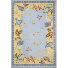 Momeni Coastal 04 Rug in Light Blue