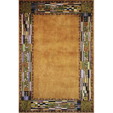 Momeni New Wave 03 Rug in Gold