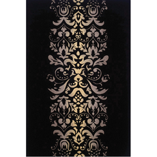 Momeni New Wave 114 Rug in Black