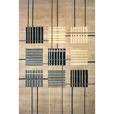 Momeni New Wave 48 Rug in Sand
