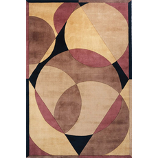 Momeni New Wave 78 Rug in Brown