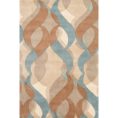 Momeni New Wave 97 Rug in Multi