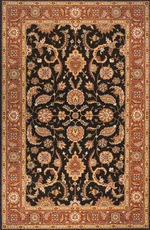Momeni Persian Garden 07 Rug in Salmon