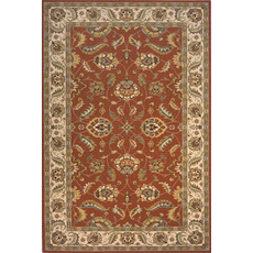 Momeni Persian Garden 10 Rug in Salmon