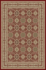 Momeni Royal 01 Rug in Red