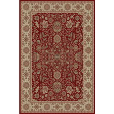 Momeni Royal 03 Rug in Red