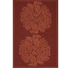Clearance Momeni Veranda 09 2' X 3' Rug in Wine