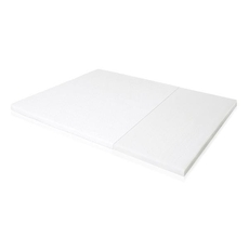 Malouf Isolus 2 Inch Twin Size Latex Topper