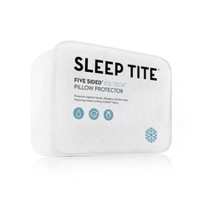 Malouf Sleep Tite Icetech Queen Size Pillow Protector