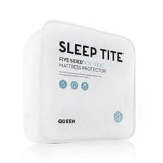 Malouf Sleep Tite 5 Sided Icetech Split King Size Mattress Protector