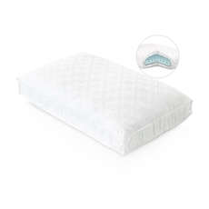 Malouf Z Convolution Gel Dough Lowloft Queen Size Pillow